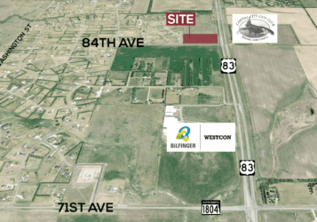 Highway 83 lot for sale in Burleigh County