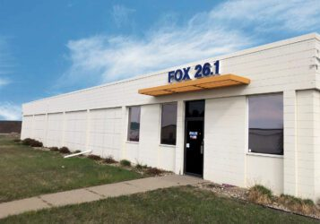exterior building photo of the Former fox 26 studio in east bismarck for lease or for sale