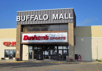 exterior view of front entrance at Buffalo Mall