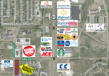 Multi-Family Development land along 43rd Avenue south of Cashwise Foods in North Bismarck