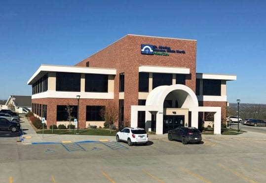 Office space for lease in the CHI Primecare building on Sunset Drive off Interstate 94 in Mandan, ND