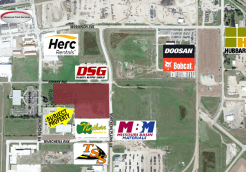 Land along Airway Ave & Northern Plains Dr in South Bismarck, ND