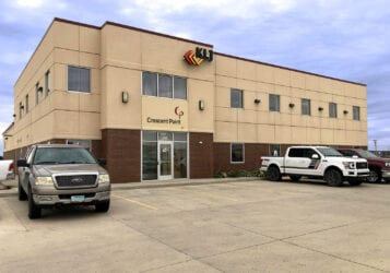 Williston office building exterior