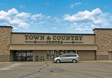 Town & Country Center Minot building exterior