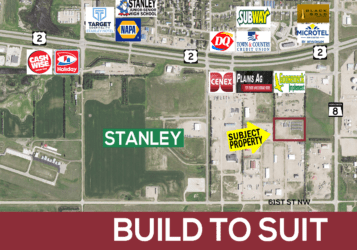 STANLEY, ND LAND LOT FOR SALE