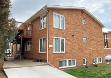Downtown Bismarck bedroom apartment for lease rent at 419 N 8th Street