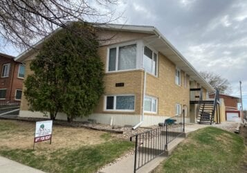 Downtown Bismarck 2 bedroom apartment for lease rent at 515 N 8th Street