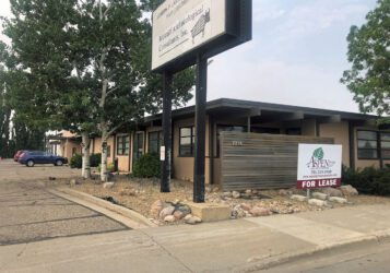 office warehouse building for lease along Main Avenue in Bismarck, ND