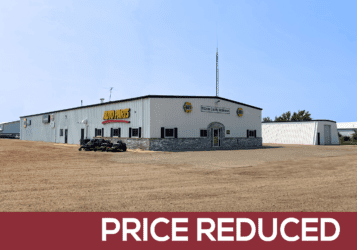 former NAPA store in Washburn, ND for sale along Highway 83